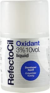 Refectocil Oxidant 3% 10 Volume Liquid Developer especially formulated to be used with RefectoCil eyelash and eyebrow tints. size 50 ml