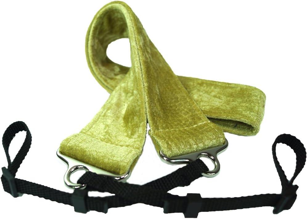 Gold Dog Days Designs ddgldcm Croc Velvet Camera Strap