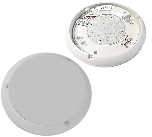 Lámpara LED de techo lámpara de pared con sensor de movimiento detector RF 1300 lm Argus