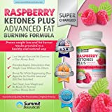 Raspberry Ketones Plus+ Advanced Fat Burning Formula – Top-Rated, Stimulant Free Weight Loss Supplement and Appetite Suppressant for Men and Women. Includes African Mango, Acai Berry, Grape Skin Extract and Other Select, All Natural Thermogenic Fat Burning Ingredients. Eat Less and Still Feel Satisfied. 1000mg/serving., Health Care Stuffs