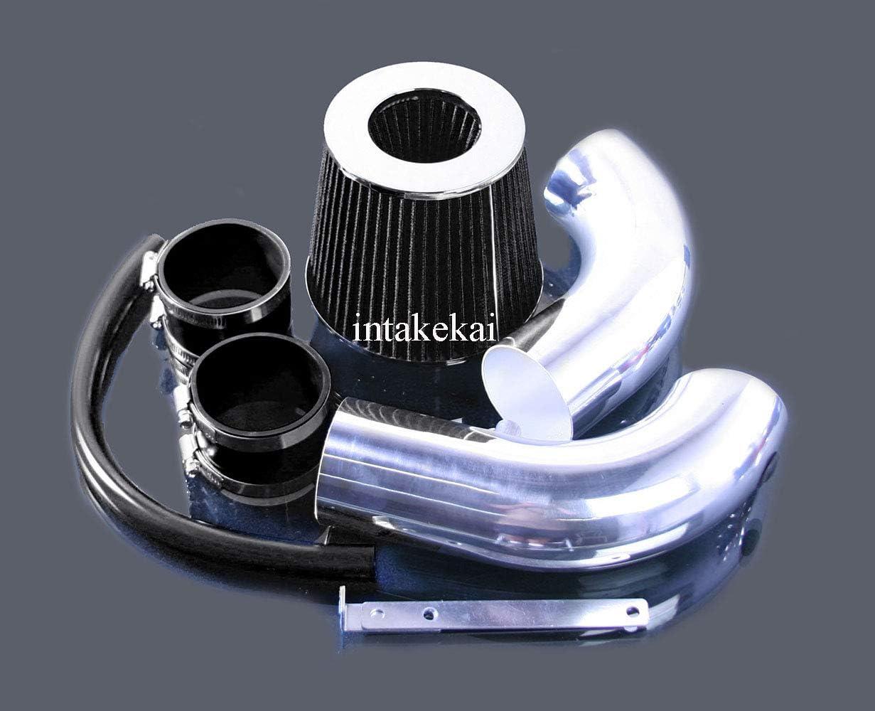 BLACK PERFORMANCE AIR INTAKE KIT FIT 2007-2010 DODGE NITRO 3.7L V6 ENGINE