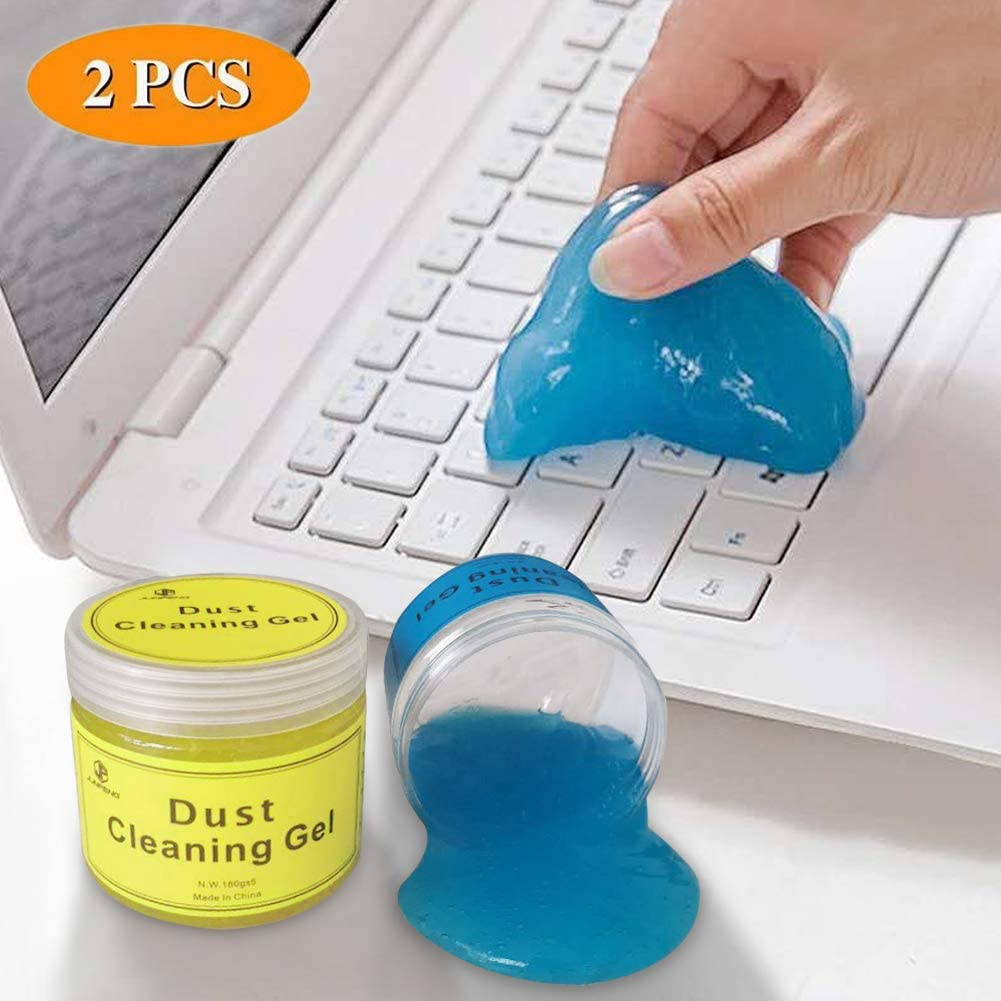 Keyboard Cleaner Gel Sets.for Car Vents,PC Tablet Laptop,Crawling Mat,Cameras, Printers, Calculators,360G (Packs)