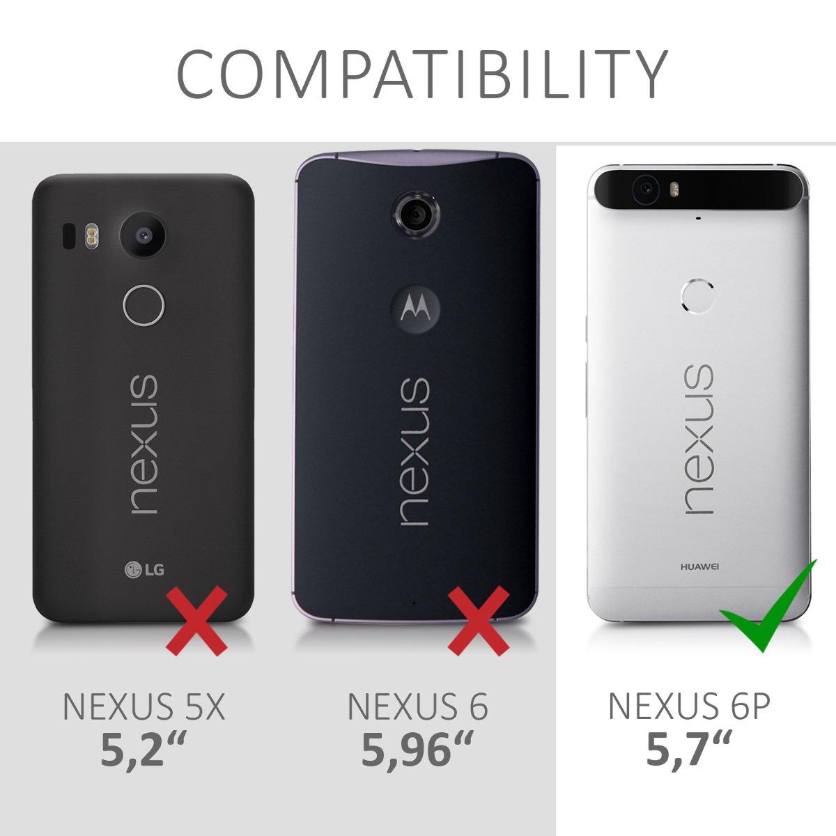 kwmobile Funda para Huawei Google Nexus 6P: Amazon.es: Electrónica