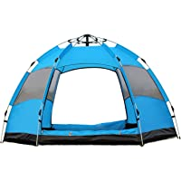 Haonew Camping Tents 2-4 Person,Waterproof Pop Up Instant Family Tent for Camping Outdoor Hiking, Easy to Set up