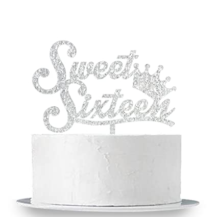 Amazon INNORU Sweet 16 Cake Topper