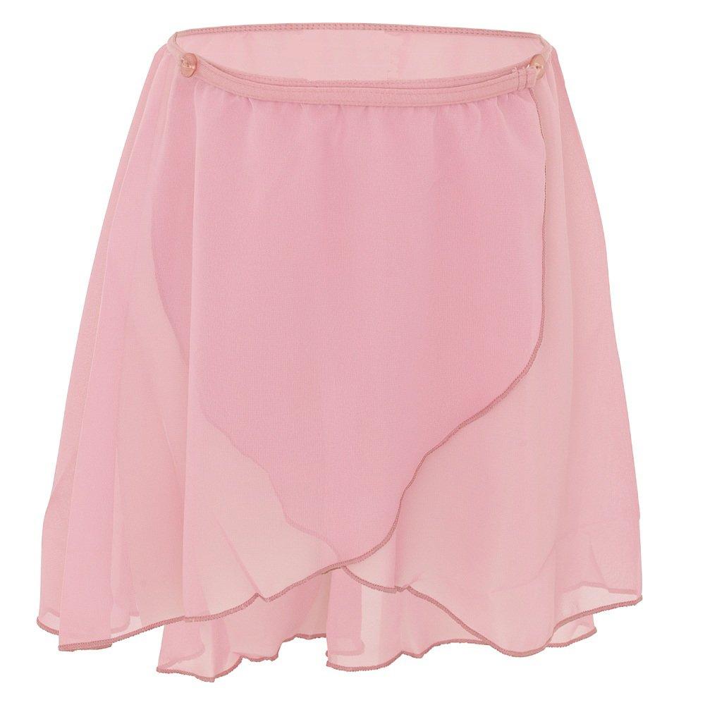 Starlite Tisha Short Wrapover Georgette Skirt