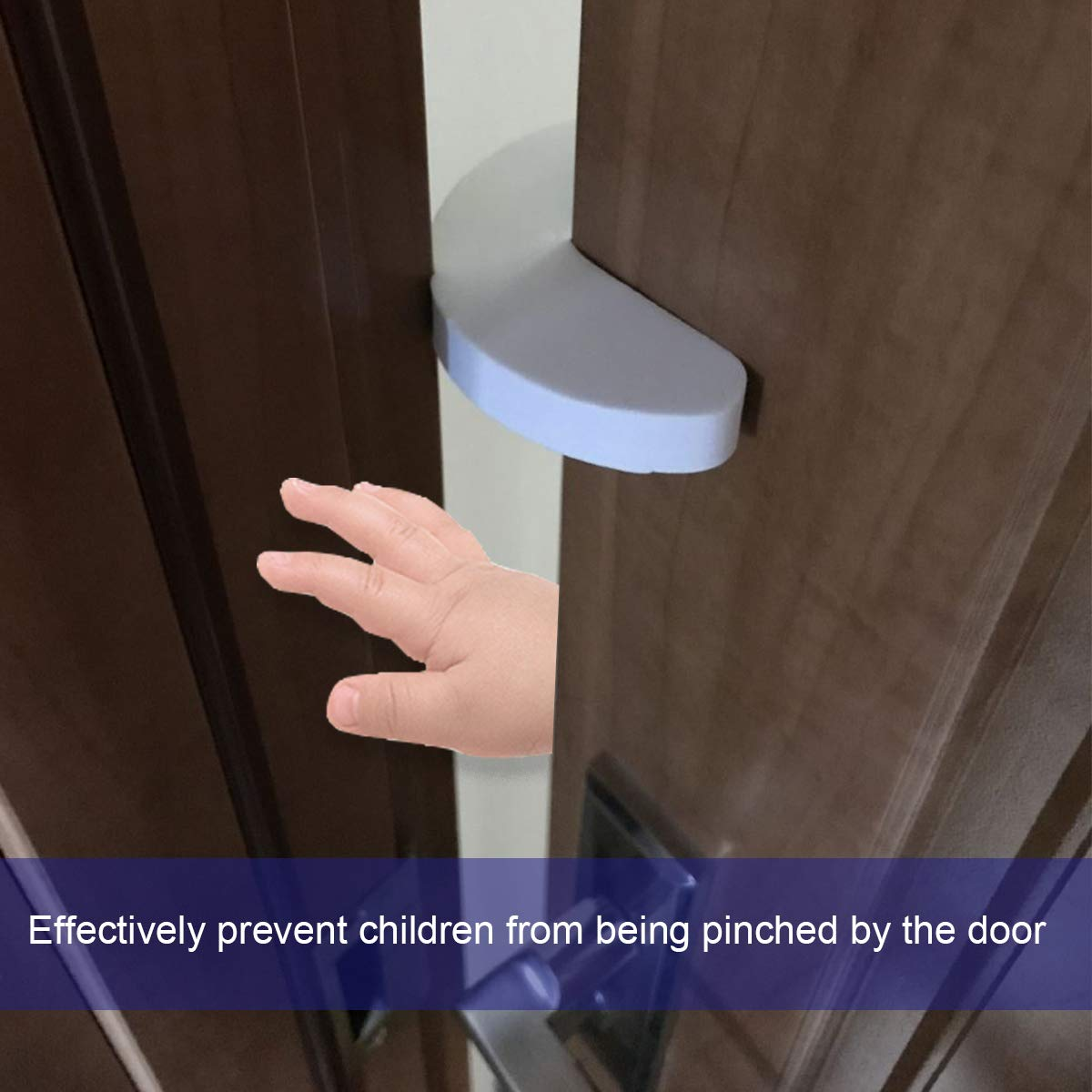 Prevent Child from Getting Locked in the Room Baby Child Safety 6PCS FINENIC Finger Pinch Guard Door Preventer Prevent Finger from Being Pinched by Impact Doors Soft Durable Foam Door Stopper