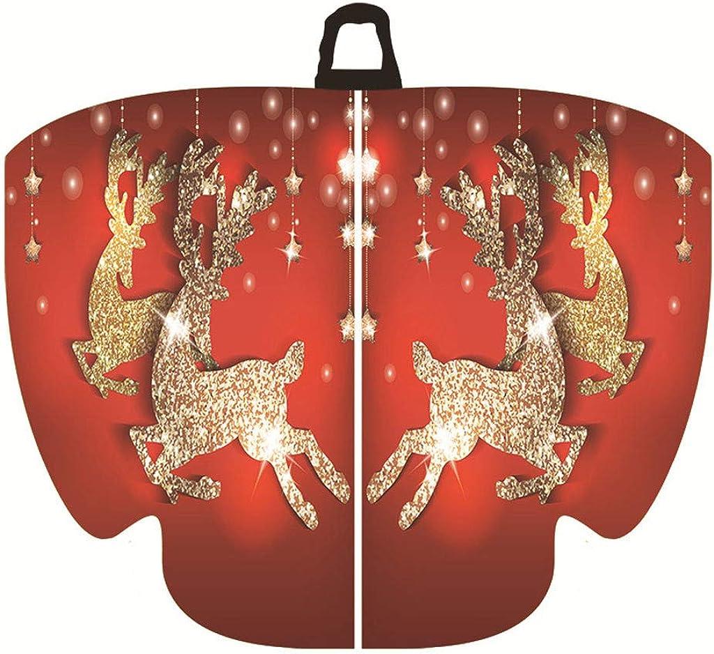 TUDUZ Weihnachten Frauen Schmetterlingsfl/ügel Schal Schals Damen Nymph Pixie Poncho Kost/ümzubeh/ör