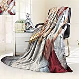 DOLLAR Blanket,Three generation of women making dumplings, hands only Traveling, Hiking, Camping, Full Queen, TV, Cabin, Couch, Bed Throw(60''x 50'')