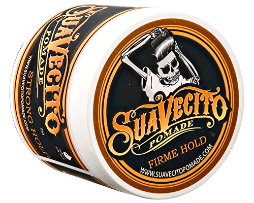 - Suavecito Pomade Firme (Strong) Hold 4 oz