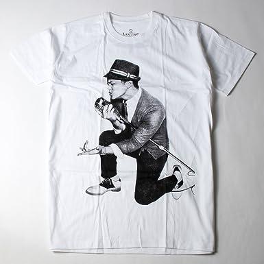 ロックTシャツ Bruno Mars ブルーノ マーズ 歌手 マイク Lサイズ ホワイト ebi,0308,