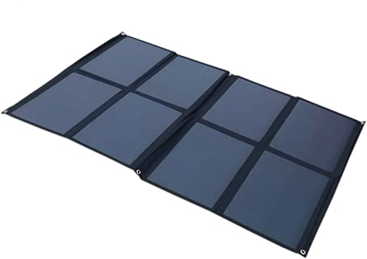 GGX ENERGY Sunpower Solar Cell Panel Solar portátil de 160 W ...
