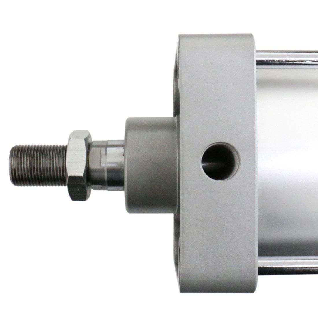 Baomain Pneumatic Air Cylinder SC 125-300 PT 1/2; Bore: 5'', Stroke: 12''; Screwed Piston Rod Dual Action by Baomain (Image #2)
