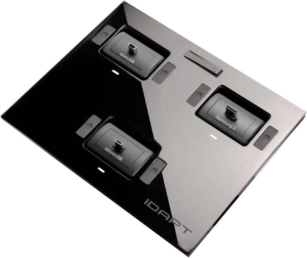 Hama Idapt I4 Multi Ladegerät Schwarz Elektronik