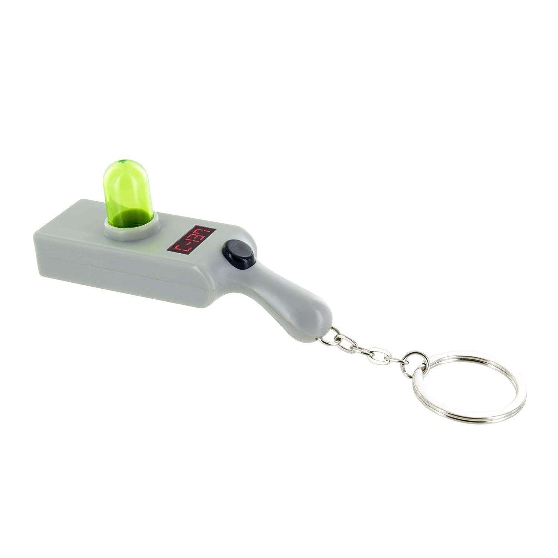 Rick and Morty Portal Gun Key Ring Light - Key Chain