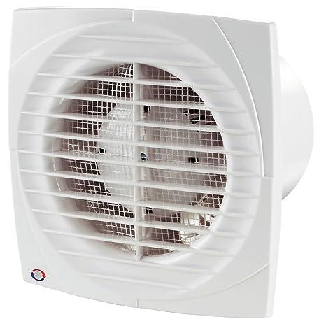 125 und 150 mm Nachlauf Feuchtigkeitssensor VENTS DL TIMER HYGRO Ventilator L/üfter Badl/üfter bis zu 292 m/³//h /Ø150 mm 100