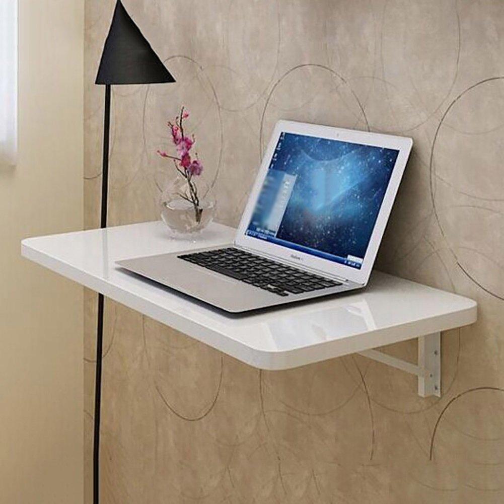 塗装折り畳みコンピュータデスク壁掛けダイニングテーブルデスクトップラップトップテーブルパーティション壁収納ラックホワイト (サイズ さいず : 100cm*40cm) B07DNLWBPL 100cm*40cm 100cm*40cm