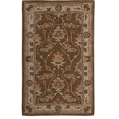 Nourison India House (IH75) Amber Rectangle Area Rug, 3-Feet 6-Inches by 5-Feet 6-Inches (3'6
