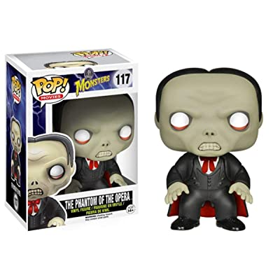 Funko Pop! Universal Monsters - Phantom of The Opera Action Figure: Funko Pop! Movies:: Toys & Games