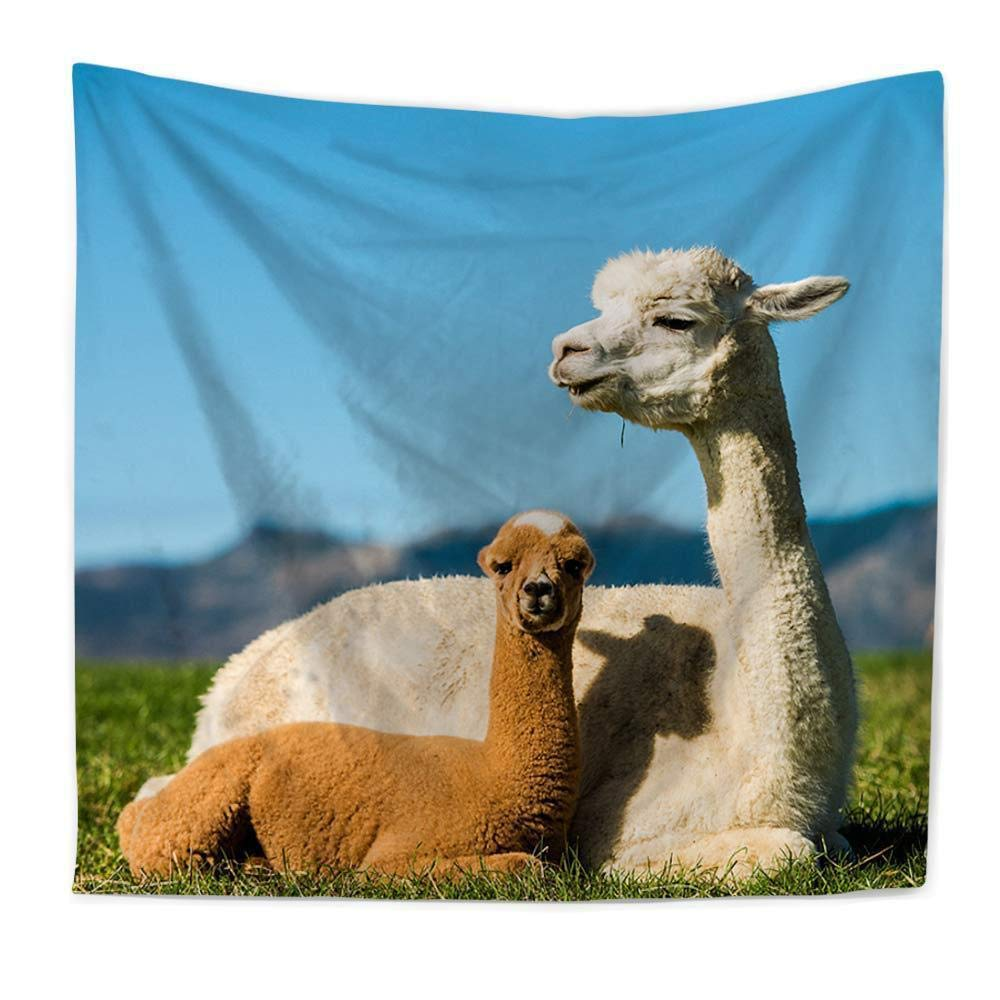 kaige tapestry Animal Polyester India Tapestry wall-hung beach towel sitting blanket Polyester