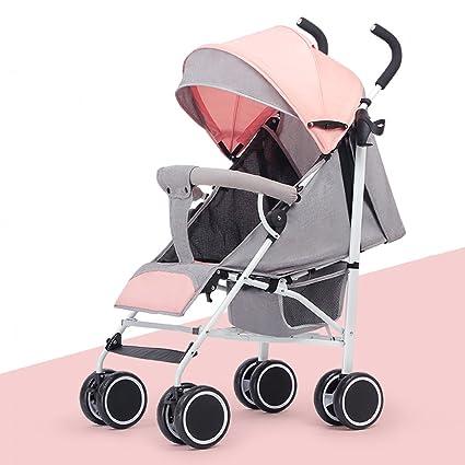 TLMY Cochecito de bebé Ligero Plegable Sentado Reclinador ...