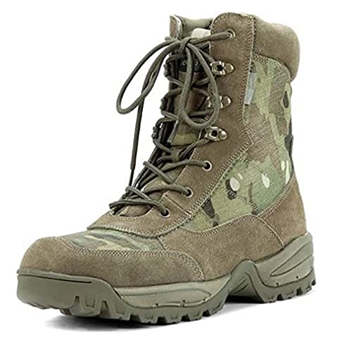 e3ab546df9c Amazon.com: Mil-Tec Multicam Pattern Side Zip Tactical Army Boots: Shoes