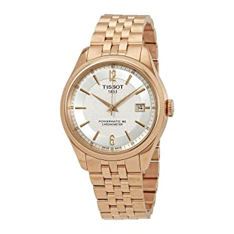 6915c3957ca Image Unavailable. Image not available for. Color  Tissot Ballade Automatic  Chronometer Silver Dial Mens Watch ...