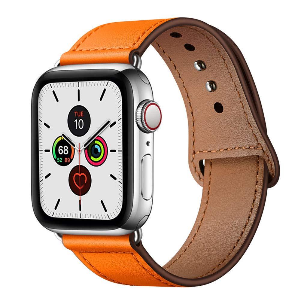 Malla Cuero para Apple Watch (38/40mm) YALOCEA [7QWWHKBF]
