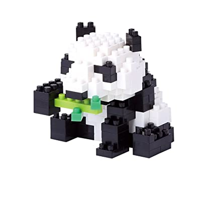 KAWADA NBC_159 Nanoblock Giant Panda Renewal Building Kit: Toys & Games