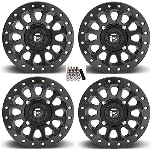 (Fuel Vector Beadlock UTV Wheels Black 14