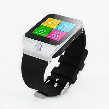 Banda ZGPAX Reloj elegante Quad GSM 850MHz, 900MHz, 1800MHz, 1900MHz desbloqueado SIM reloj