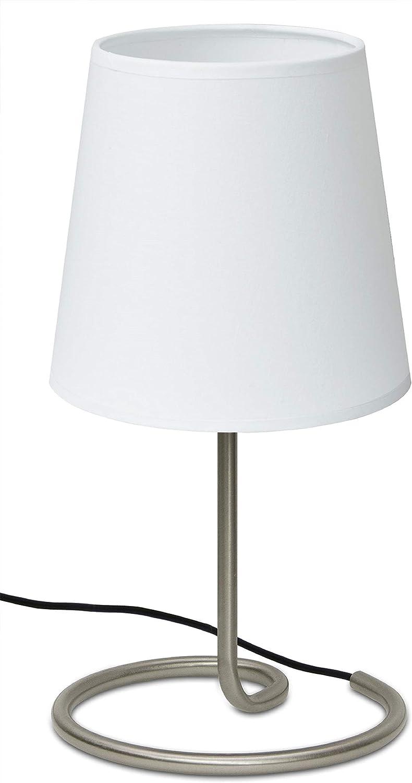 Trango Lámpara de mesa, mesilla de noche, lámpara de escritorio TG2018-05W I
