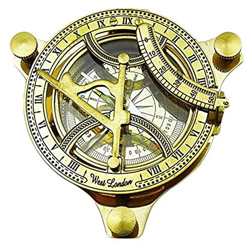 Compass Magnetic Nautical Sundial 4