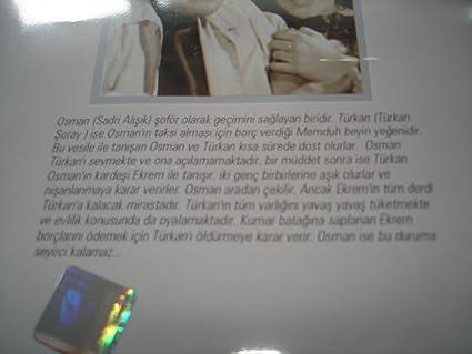 Amazon.com: Sana Layik Degilim (1965) / Turkish Movie / Region 2 PAL DVD / Osman F. Seden / Türkan Soray / Sadri Alisik / Onder Somer: Turkan Soray, ...