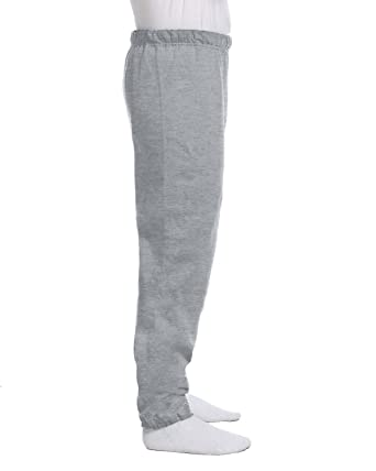 greatvarieties cozy fresh incredible prices Jerzees Cotton/Poly Sweatpants (No Pockets), Heather Grey