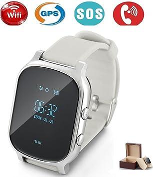 Niños Smartwatch GPS tracker con Phone, Smart Watch Niño Reloj de ...