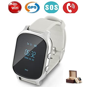 Niños Smartwatch GPS tracker con Phone, Smart Watch Niño Reloj de ...