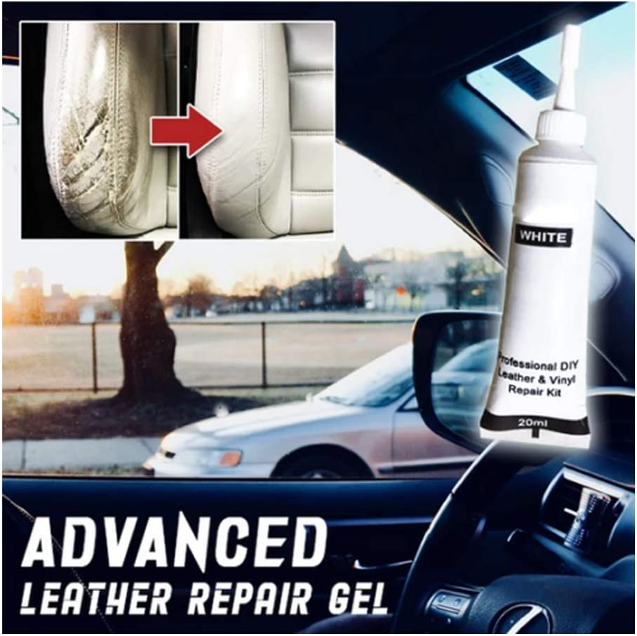 LUCKYY Advanced Leather Repair Gel Black Lederreparatur Creme,Lederreparaturset Sofa,Lederbalsam,Lederreparatur F/üller F/ür Auto,Sofa,Jacke,Geldb/örse,G/ürtel,Schuhe,Leder Mantel