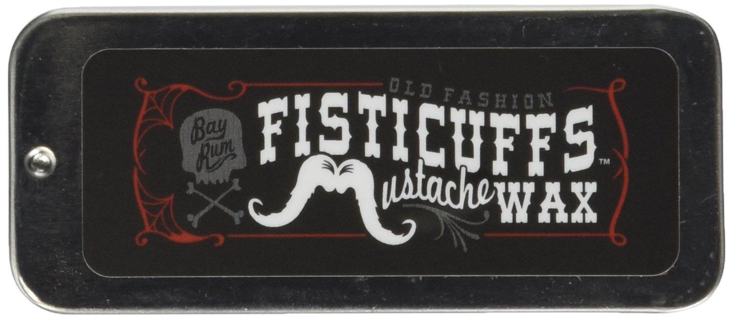 Fisticuffs Mustache Wax (Bay Rum Scent)