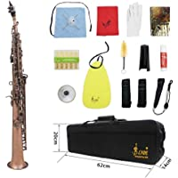 Homyl Soprano Key de Cáscaras para Saxo con Instrumentos de Viento de Madera de Láton