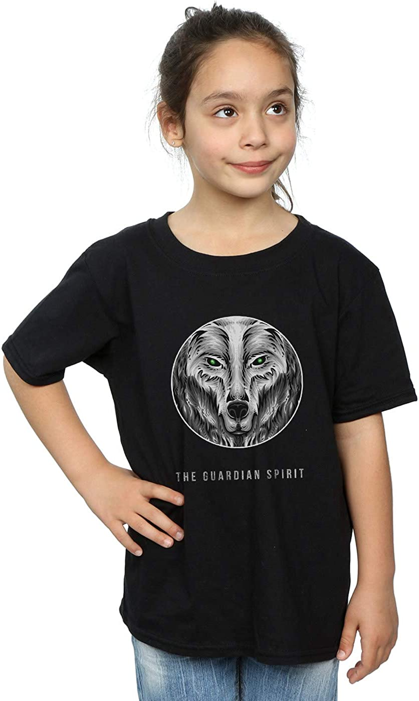 Drewbacca Girls Wolf Guardian Spirit Sweatshirt