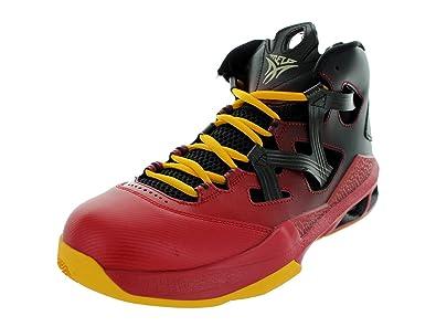 new product a7e65 98a5e ... best price nike air jordan melo m9 mens basketball shoes 551879 028  black 12 m us