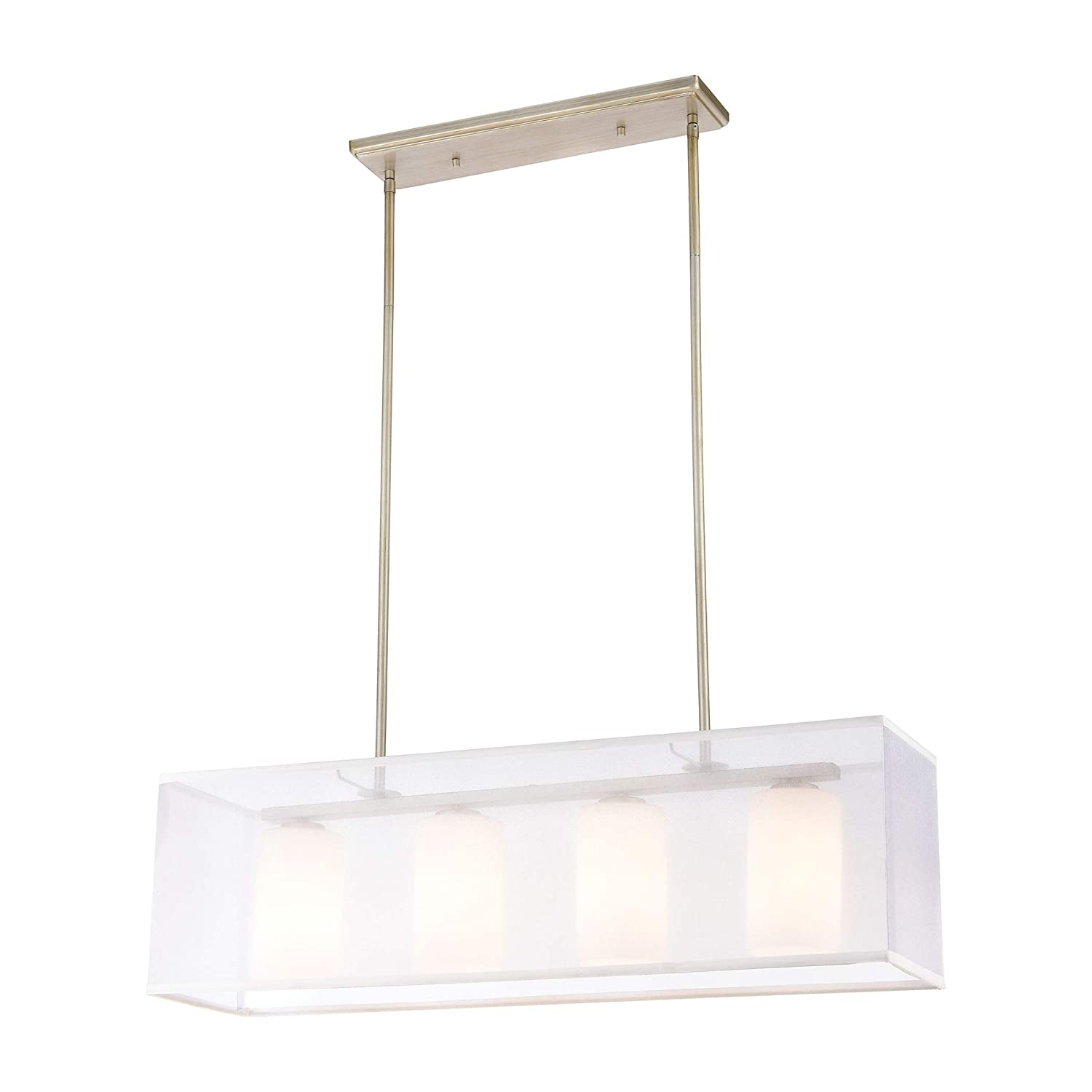 Amazon.com: Elk Lighting 57038/4 Island - Lámpara de techo ...
