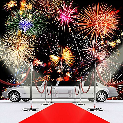 5x7ft-red-carpet-limousine-wedding-photographic-background-fireworks-dark-sky-photography-studio-pro