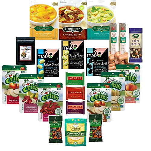 [Whole 30 Compliant Snack Box - Survival Pack for On The Go Whole 30 Success with 3 Packs of Curry for Quick Whole 30] (Midwife Costume For Kids)