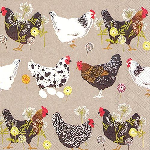 chicken paper napkins - 6
