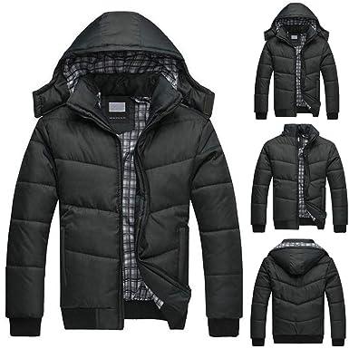 Roiper Doudoune en Coton,Veste Homme Sweatshirt,Pull Mode Manteau Chaud  Trench Coat Velours fe2eb7da2048