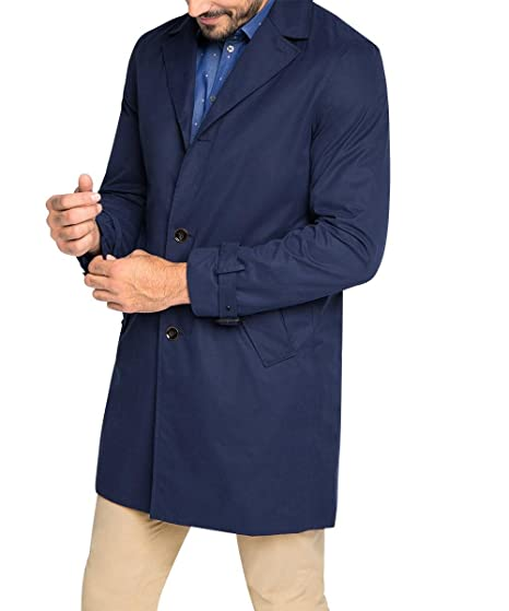 Mantel Kurzer aus Baumwolle Herren ESPRIT N8wO0ymnv