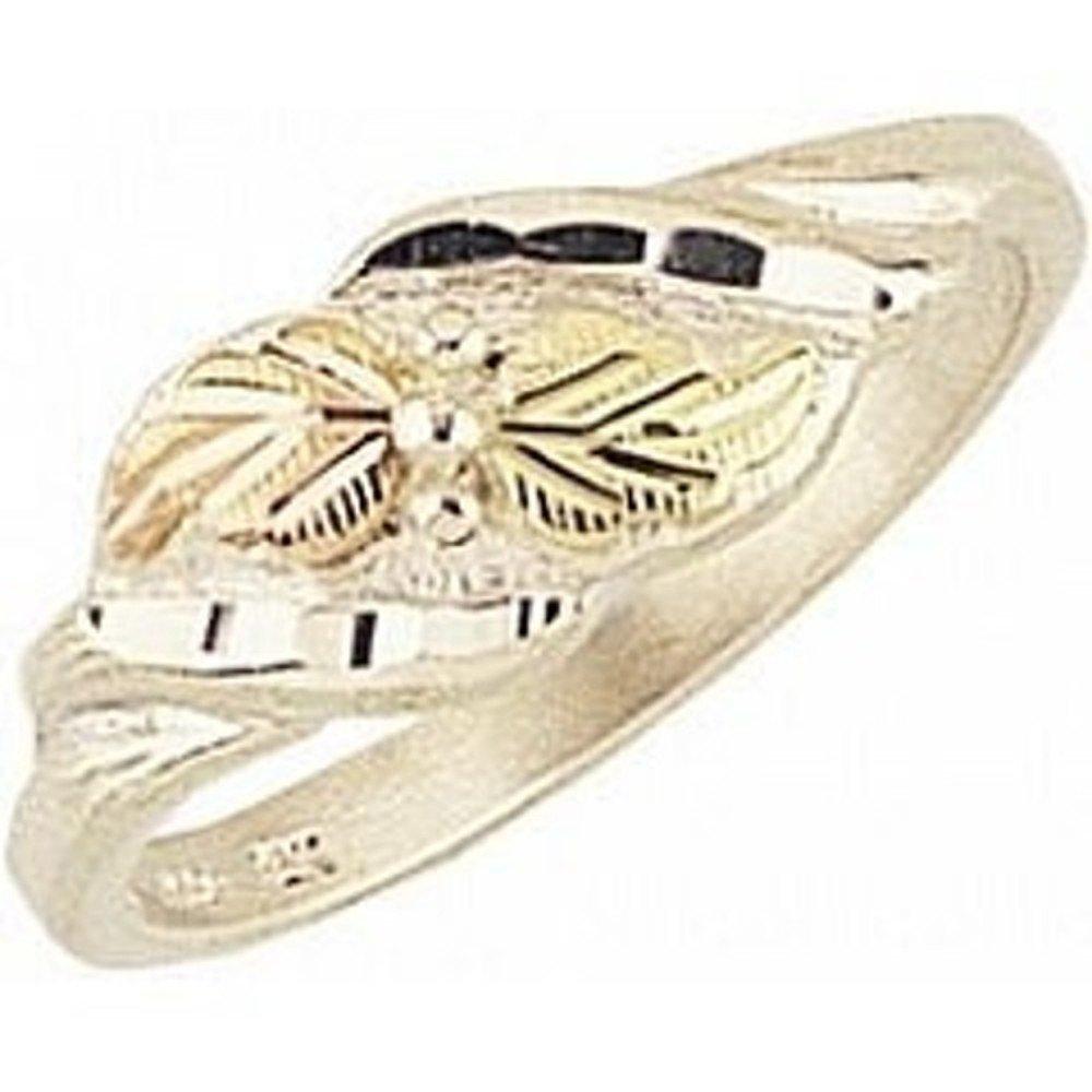 Black Hills Gold Silver Ring (6)