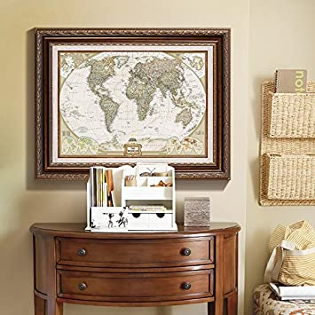 Paintsh Weltkarte Wohnzimmer American-Style im Europäischen Stil ...